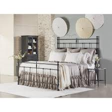 Magnolia Home by King Vintage Metal Trellis Bed By Magnolia Home By Joanna Gaines