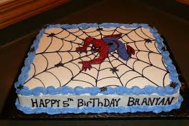 spiderman birthday cake cakecentral com