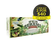 Teh Rerama global herbs teh rerama plus al barakah health mart