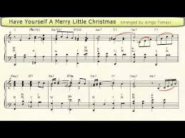 yourself a merry accordion sheet