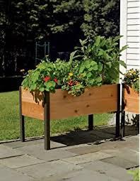 amazon com gardener u0027s supply 2 ft x 8 ft raised garden bed