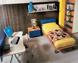 Simple Bedroom Designs For Men Bedroom Simple And Neat Yellow Sheet Platform Bed And Wall