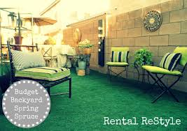 Cool Backyard Ideas On A Budget Focal Point Styling Rental Restyle Budget Friendly Backyard
