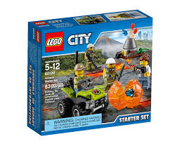 halloween city madison heights mi lego city volcano starter set 60120