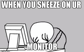 Sneeze Meme - sneeze imgflip