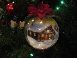 healthy crafty acrylic fillable ornaments
