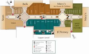Easton Mall Map Crabtree Valley Mall Map Large Scale Map