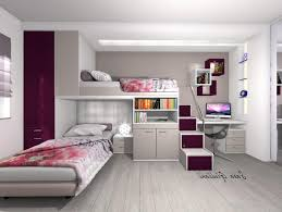 dream beds for girls bedroom white wooden bunk bed with ladder and rectangle blue