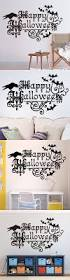 halloween wall stickers halloween wall decals monochrome adesivos de parede kids bedroom