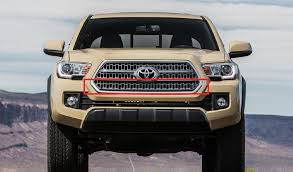 2017 tacoma light bar ijdmtoy toyota tacoma behind grill led light bar install