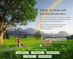 pet cremation nj faithful companion pet cremation services clifton n j home