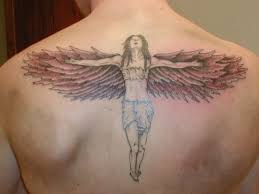 awesome angel wing tattoos
