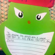 grinch writing paper fun with firsties grinch week