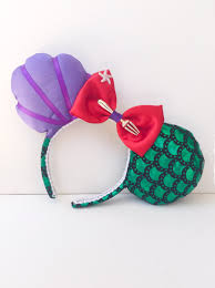 mickey mouse ears spirit halloween mermaid shell ears ariel pinterest mermaid shell mermaid