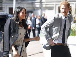 prince harry meghan markle attends high profile event with prince harry as