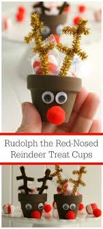clay pot diy reindeer craft can make