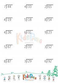 division with remainders worksheet 4th grade worksheets
