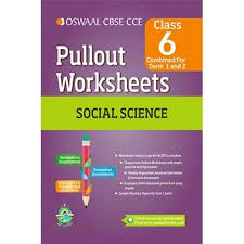 oswaal cbse cce pullout worksheets social science for class 6