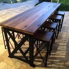 high table patio set outdoor high top table patio furniture high top table and chairs pub
