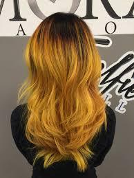 pravana yellow ombrè by doug 856 663 0600 hair pinterest
