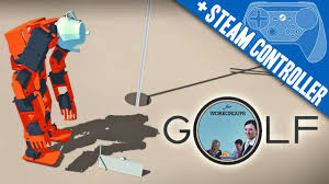golf for workgroups steam controller gyro swinging
