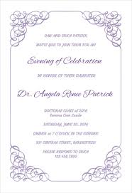 graduation party invitations templates free cimvitation