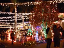 The Best Christmas Light Displays by Candy Cane Lane Wakefield Winter Wonderland It U0027s Almost That