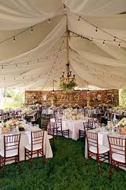 wedding tent 35 rustic backyard wedding decoration ideas backyard weddings