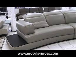 canapé cuir 4 places canapé cuir 4 places avec appuie têtes modulables zelo