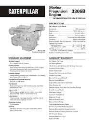cat 3306b dita propulsion caterpillar marine power systems pdf