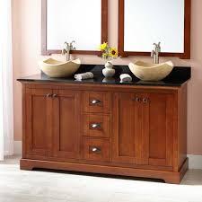 Two Sink Vanity Cherry Finish Double Sink Vanity Signature Hardware