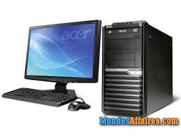 vendre ordinateur de bureau ordinateur de bureau neuf acer veriton en vente ouagadougou