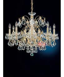 swarovski home decor lighting schonbek century wide 9 light chandelier with schonbek