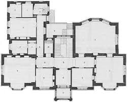Elevation Floor Plan Gothic Mansion Design Plans From The 1800s Front Elevation And