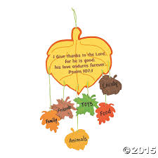 thankful leaves mobile craft kit 12 pk supplies canada