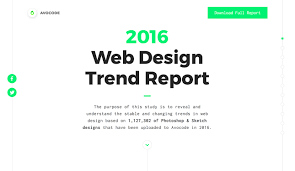 Web Design Home Based Jobs Avocode 2016 Web Design Report Awwwards Sotd