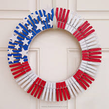 4th of july wreaths patriotic decor clothespins wreath 259 west