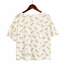 shirt pattern for dog corgi pattern dog women pajamas top shorts boopetclub