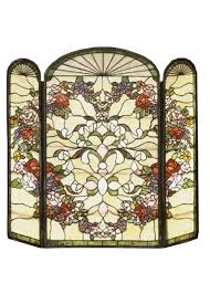 decorative fireplace screens michael aram palm decorative