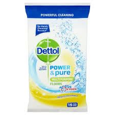 morrisons dettol power floor wipes 15 per pack product