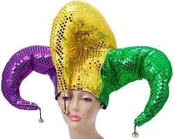 mardi gras joker sequin jester hat for mardi gras mardi gras jester