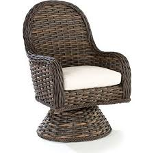 Swivel Patio Dining Chairs Venture South Hton Swivel Patio Dining Chair With Cushion