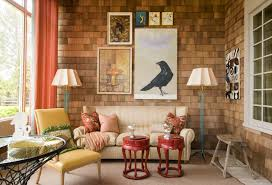 Apartments Entrancing Small Living Room With Retro Style From - Vintage style interior design