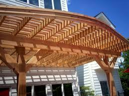 garden u0026 outdoor white pergola plans on brown floor for patio ideas