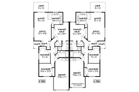 duplex plan cottage house plans wynant 60 024 associated designs