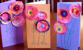 s day cards for kids preschool crafts for kids s day paper flowers card craft