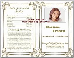 downloadable funeral program templates free funeral program templates for microsoft publisher paso