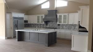 Gray Kitchen Island by Shaker Kitchen Island Esher Grey Shaker Kitchen Transitional