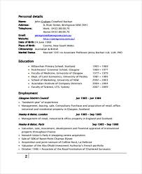 Property Management Resume Samples by 9 Management Resume Templates Free Sample Example Format