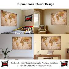 great art xxl poster world map photo wallpaper vintage retro motif great art xxl poster world map photo wallpaper vintage retro motif xxl world map mural